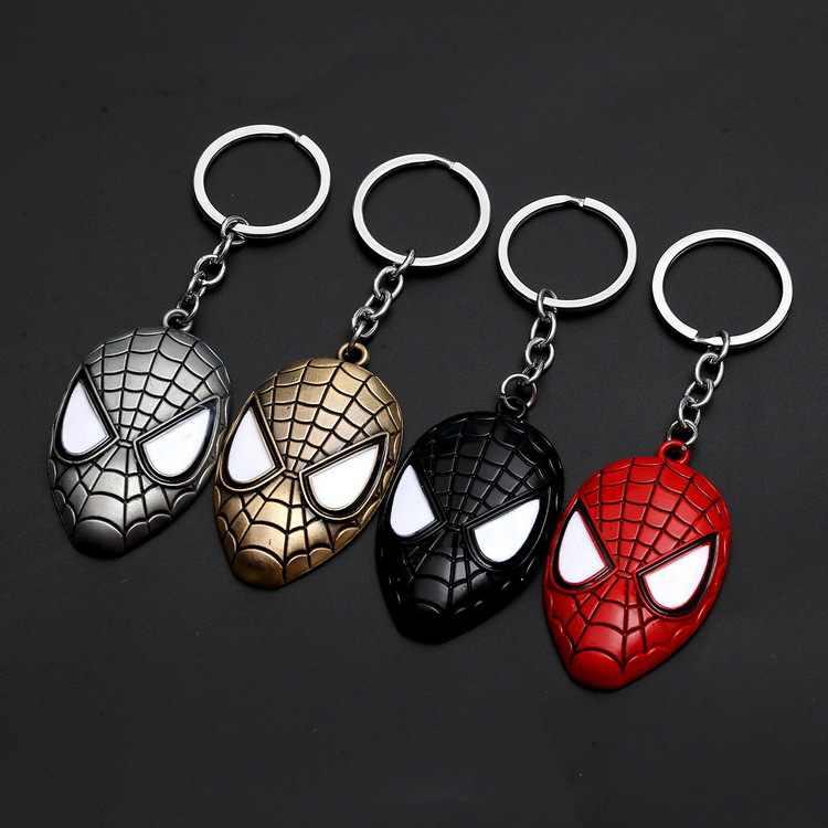 1 piezas de metal superhéroe llavero hombres baratija clave cadena V de Vendetta de hierro hombre clave anillo regalo de la joyería de recuerdos