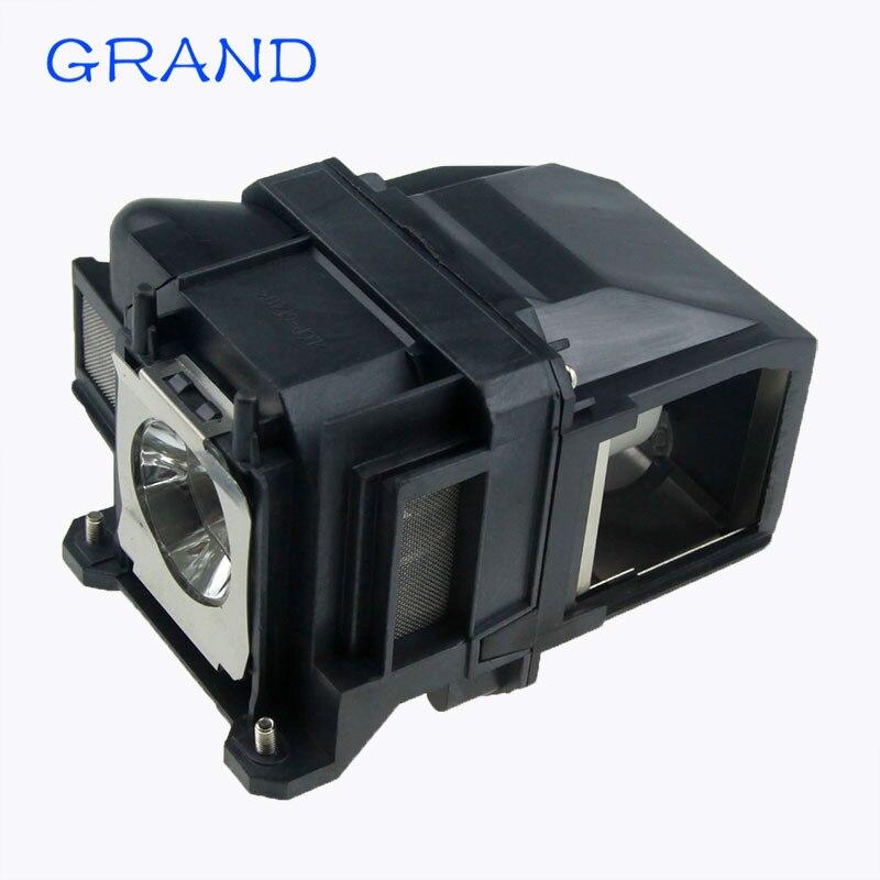 Lâmpada compatível ELPLP78 para EB-945/955 w/965/EB-X24 EB-X25 EH-TW490 EH-TW5200 EH-TW570 EX3220 EX5220 EX5230 projetores GRAND