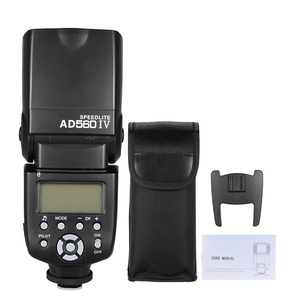 Image 3 - Andoer AD560 IV Đèn Flash Máy Ảnh 2.4G Không Dây Trên Camera Đèn Flash Speedlite Nhẹ GN50 Màn Hình Hiển Thị LCD Dành Cho Máy Ảnh Canon Nikon sony Máy Ảnh DSLR