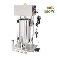 20L Vertical Industrial Electric Sausage Filling Machine Stuffer Machine