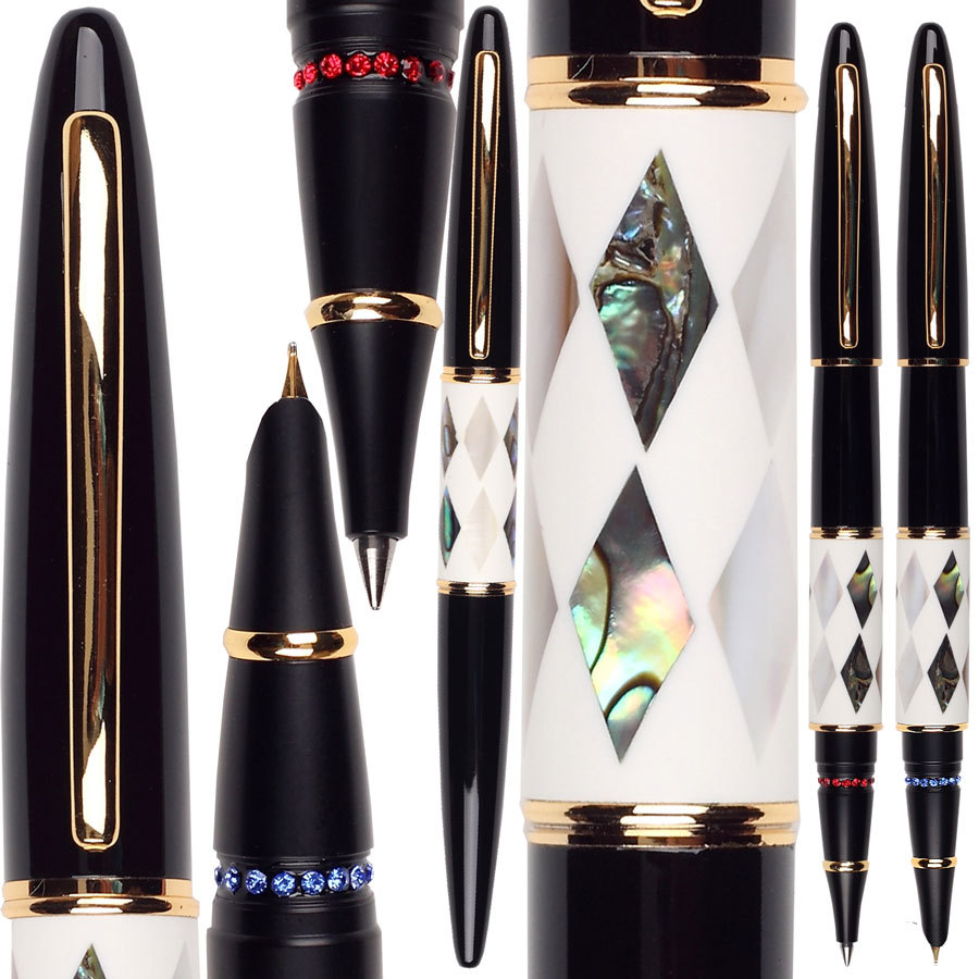 RollerBall pen & Fountain Pen Jinhao 515 standard lady sign pen office and school stationery wholesale 12pcs/lot  FREE  SHIPPING 8pcs lot wholesale fountain pen black m 14 k solid gold nib or rollerball pen picasso 89 big executive stationery free shipping