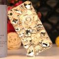 S1 luxo bling flor cristal diamante hard case capa para iphone 5 5S se 6 7 6 s 6 plus para samsung galaxy s7edge note7 5 s7