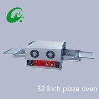 Напрямую с фабрики продажа 32 электрическая цепь Бытовая гусеничная печь для пиццы с рабочей площадью 880*1800 мм