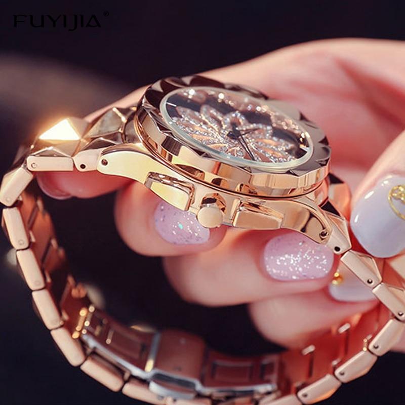 Lady zegarki damskie zegarki kwarcowe panie oglądać kobiet zegar - Zegarki damskie - Zdjęcie 5