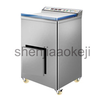 Automática comercial úmida e seca aspirador industrial máquina de embalagem a vácuo de alimentos máquina seladora de plástico arroz tijolo 220 v 370 w 1 PC