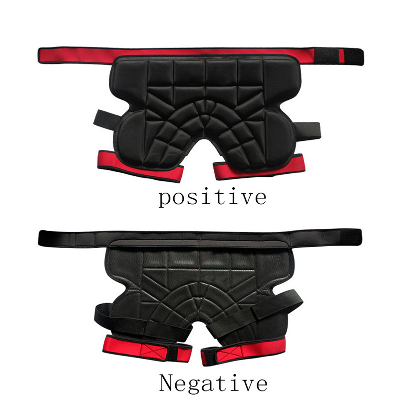 Men women Outdoor Sports Safety Black Protective Hip Padded Shorts Snowboard Skiing Skating Impact Protection #4S26 (4)