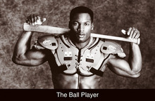 Novelty Print Your Own Picture On Room Wall Marvel Bo Jackson The Ball Player Poster Wall Poster By 27x40cm