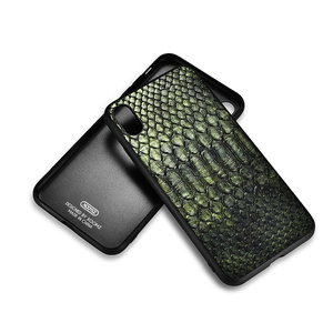 Image 4 - XOOMZ For iPhone XS Max Case Python Snake PU Leather Silicone TPU Slim Full Protection Back Cover For iPhone XS XS MAX XR X Case