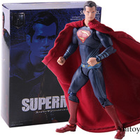 SHF Superman Action Figure Super Man PVC Collectible Model Toy