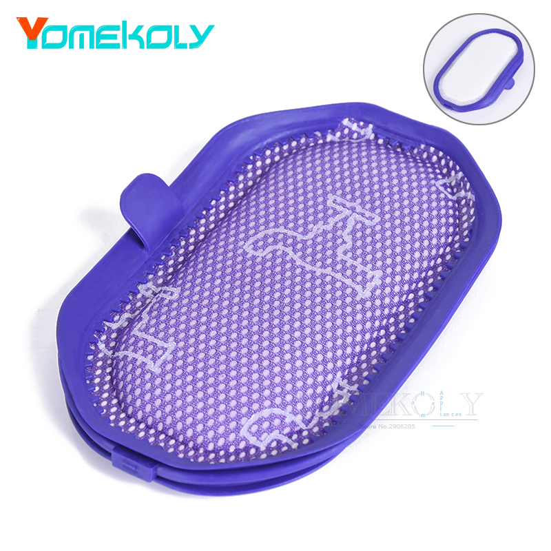1PC Filter for Dyson Vacuums Washable Pre-Filter Vacuum Cleaners Replacement Filters for Dyson Pre-filter Part # 917066-02 high quality washable pre filter