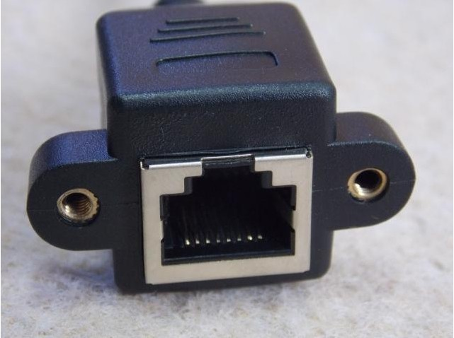 50 unids / lote RJ45 RJ-45 Cat5 macho a hembra Cable de extensión de - Cables de computadora y conectores - foto 2