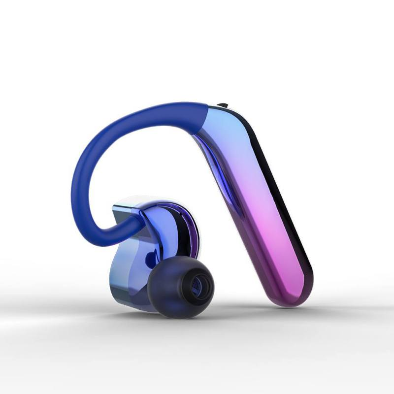 X6 Bluetooth Headphone TWS Bilateral Stereo Hanging Ear Type 5.0 Sport Waterproof Dual Action Coil Wireless Earphone