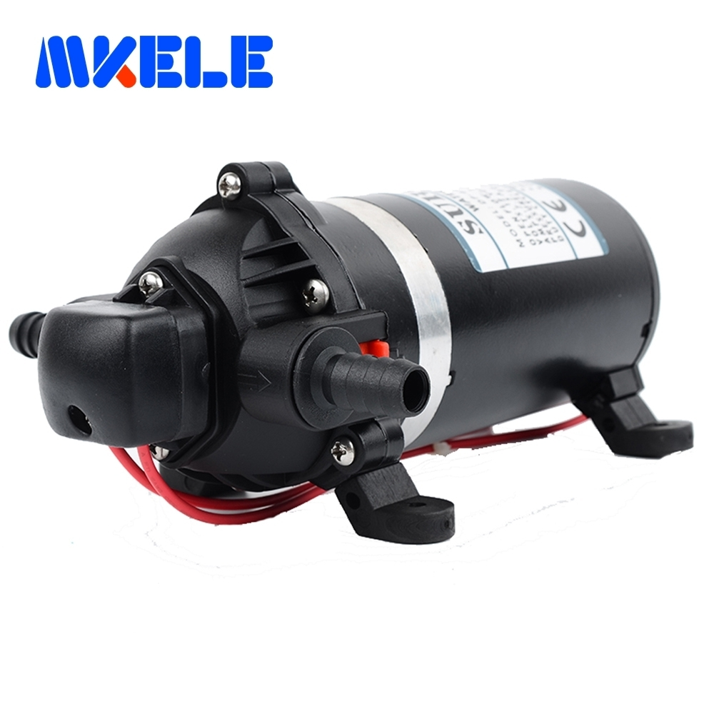 DP-160 DC 12v 9.5A Water Pump High Pressure Diaphragm Pump lift Submersible pumps For Chemical 160psi dc 12v 80w high pressure diaphragm water pump electric water pump for boat caravan marine motor water pumps