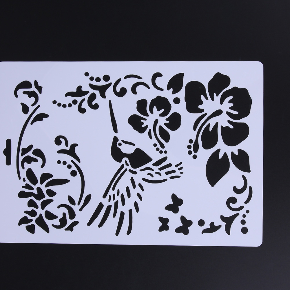 Aliexpress.com : Buy Cake Stencil Cake Side Stencil ...