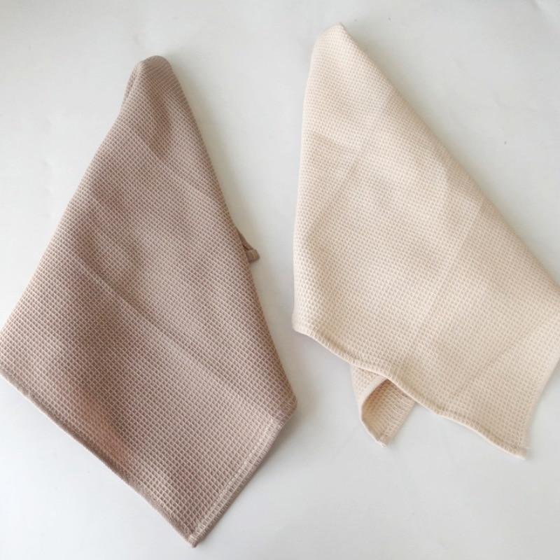 100% Cotton Table Napkin Waffle Weave Designed Tea Towel Dish Cloth Multi-Purpose Kitchen Towels Servilletas De Tela Napkins