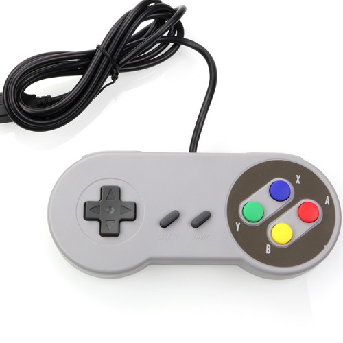 FORNORM USB Controller Gaming Joystick Gamepad Controller for Nintendo SNES Game pad for Windows PC MAC Computer