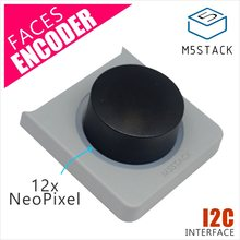 M5Stack Encoder Panel for M5Stack FACES ESP32 Pocket Computer with 12pcs NeoPixel LED MEGA328 Inside I2C Interfac for Arduino(China)