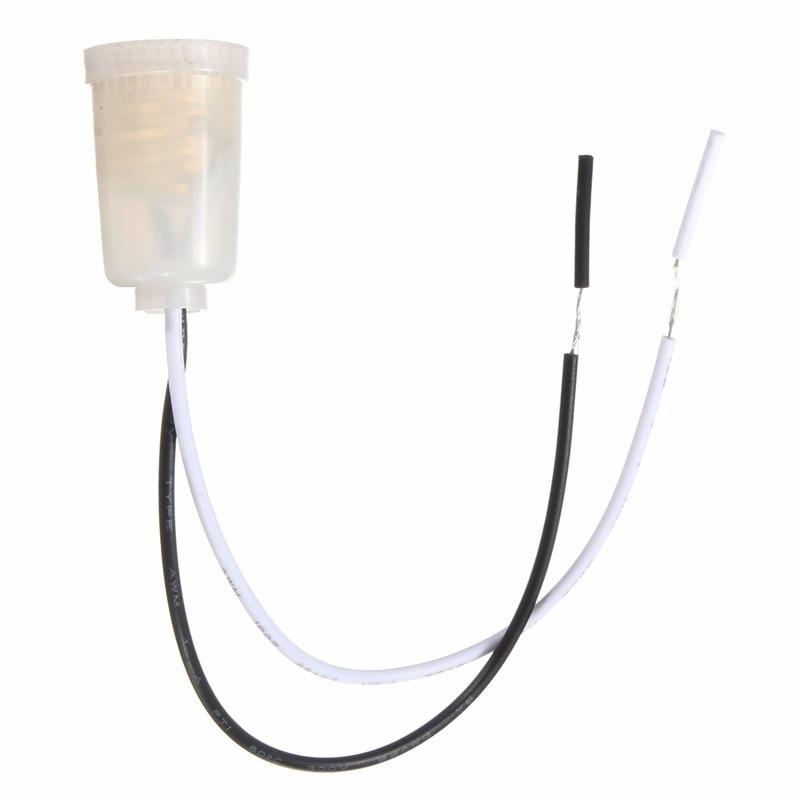 Lowest Price E12 Base Plastic LED Light Bulb Socket Lamp Holder 15cm Wire Adapter Converter ABS Material AC110-240V