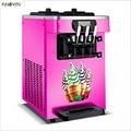 Розовый/желтый/Серебряный 18/20/22/25 л машина для мягкого мороженого машина для приготовления сладкого конуса мороженого йогурт машина для мор...