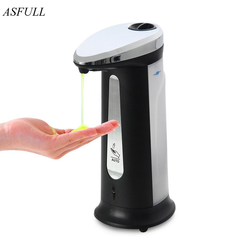 HOT Infrared Induction Smart Liquid Soap Dispenser Sensor Touchless Automatic Soap Dispenser Kitchen Bathroom for Accessories