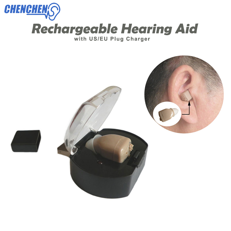 Rechargeable Hearing AIDS Ear Sound Amplifier Hearing Aid EU/US Plug Portable USB Device Hearing Ear CareRechargeable Hearing AIDS Ear Sound Amplifier Hearing Aid EU/US Plug Portable USB Device Hearing Ear Care