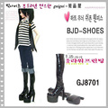 1/3 BJD Doll boots Black paragraph sd luts bjd dz shoes