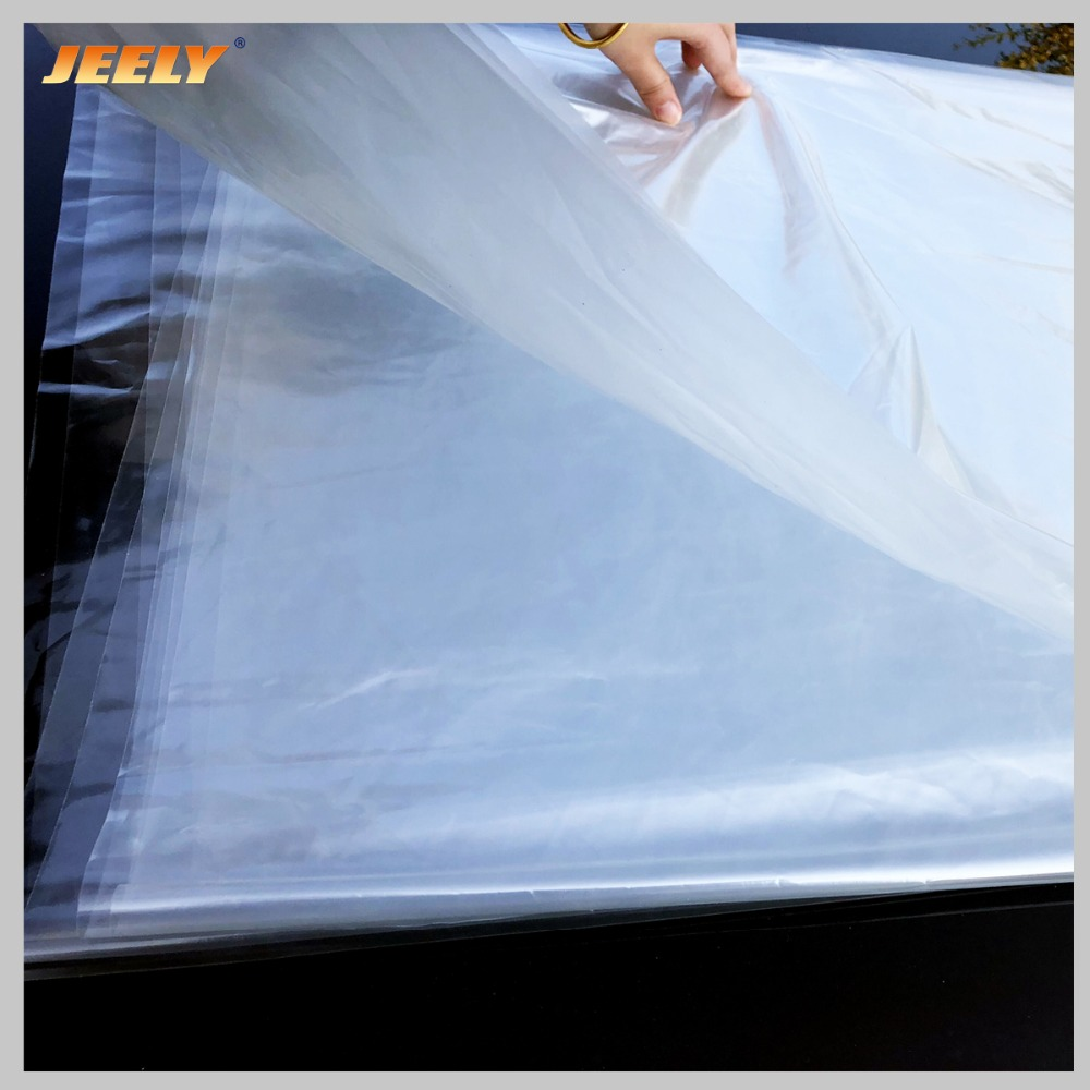 Jeely 1.5m Width 0.08mm 1.4m Width 0.1mm Thickness TPU Film For Kitesurfing Kite Bladder Repair