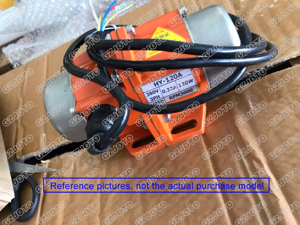 110V 220V 380V Vibrating Motor 60W 70W 80W Cement Mix Vibration