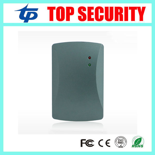 125KHZ RFID card smart card reader for access control system weigand26 and weigand34 IP65 waterrproof out door use card reader free ship by dhl rfid ic reader mf card reader for door access control system weigand34 13 56mhz sm kr201 min 20pcs
