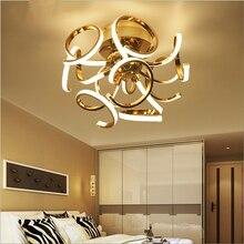 Basit yaratıcı kişilik led post modern lüks sanat top avize yatak odası çalışma odası restoran lambaları