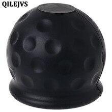 QILEJVS Универсальный 50 мм фаркоп шаровая крышка буксировочная сцепка караван прицеп буксировочная защита