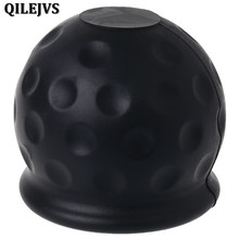 QILEJVS Universal 50mm Tow Bar Ball Cover Cap Towing Hitch Caravan Trailer Towball Protect(China)