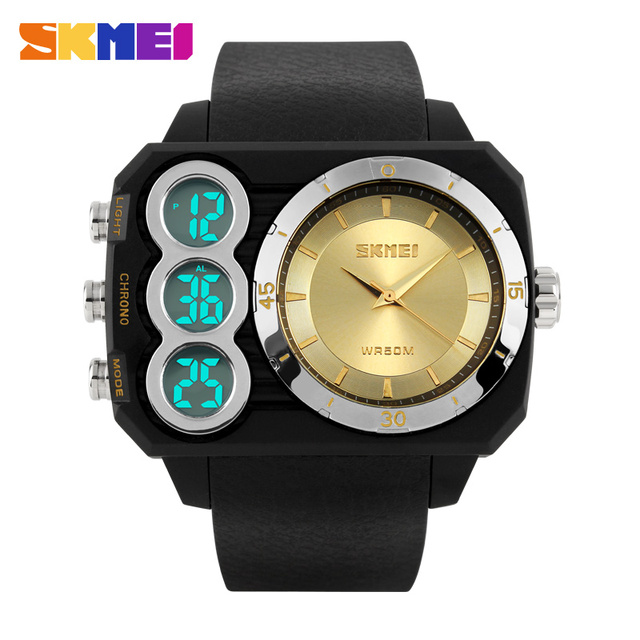 Skmei Brand Men Military Sports Watches Waterproof LED Digital Watch Fashion Quartz Outdoor Luxury Multifunction Wristwatches