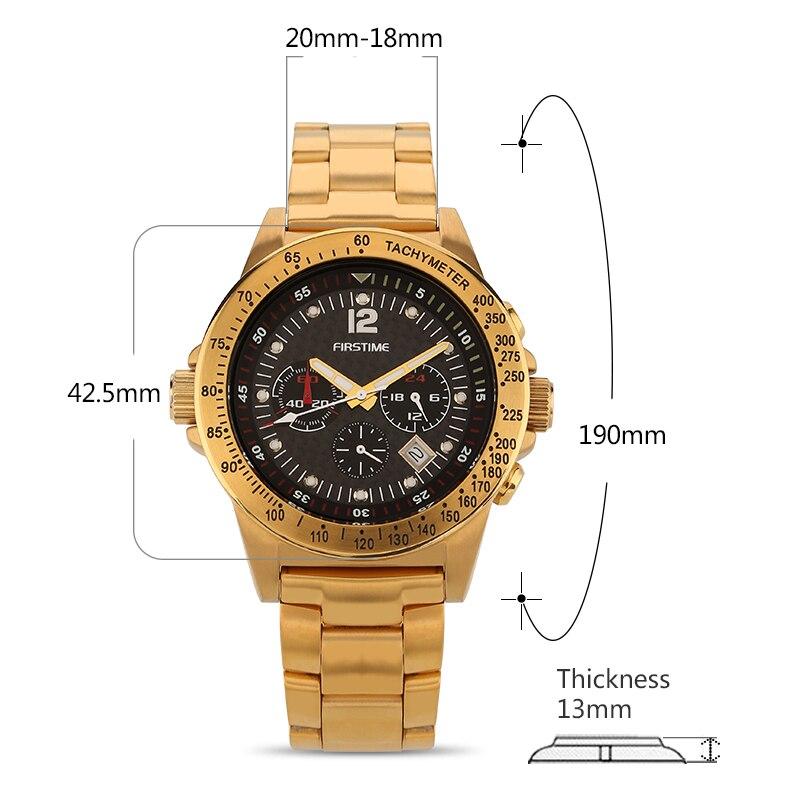 66f71d450a4 Homens Relógio De Quartzo Dos Homens Relógios Berny Moda Top Marca de Luxo Relogio  Montre Saat Horloge Erkek Hombre Masculino MOVIMENTO JAPÃO em Relógios de  ...
