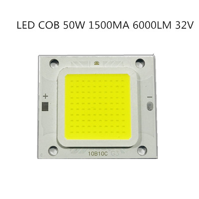 20pcs/LOT COB Chip Hight Power Full Power 4640 50W LED Lamps 6000LM Warm White High Power Long Life Good 3years For Floodlight
