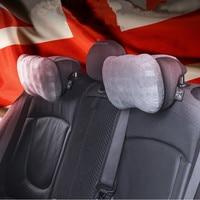 1pc Memory Cotton Car Neck Protection Pillow Soft Massage Cushion Headrest for Mini Cooper Countryman Clubman Peaceman R60 R61