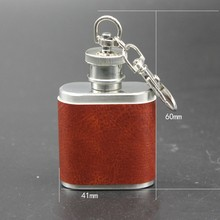 Creative mini 1 ounce stainless steel hip flask portable Russian small white hip flask with postage flat pot shape single standard mouth flat bottomed flask capacity 20000ml and joint 40 38 single neck flat flask boiling flask