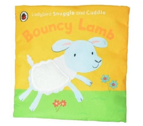 Candice guo en peluche jouet bande dessinée bébé livre en tissu moutons gonflable d'agneau activité coucher histoire sommeil cadeau d'anniversaire cadeau de noël 1 pc