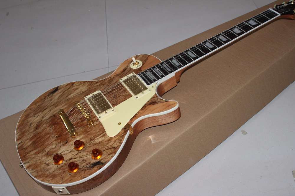 Vicers New arrive Custom Shop top standard one piece neck and body Electric Guitar Real photo shows