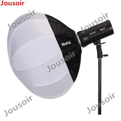 NiceFoto 50/65/80cm Collapsible Spherd Softbox Paper Lantern Ball Shape Globe Diffuser w/ Bowens Mount for Studio Flash CD50