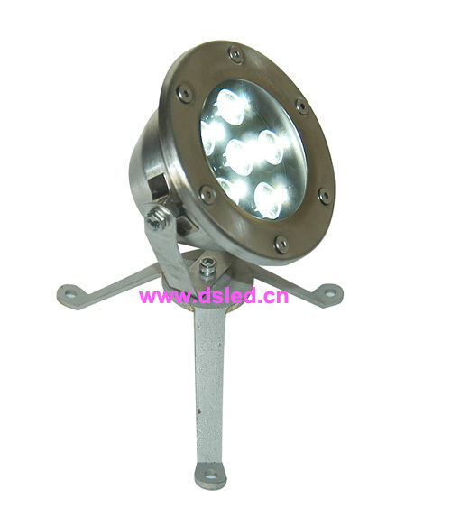 Free shipping by DHL !! IP68 6W outdoor LED spotlight,LED outdoor light,6X1W,12V DC,DS-10-8-6W,stainless steel,2-Year warranty