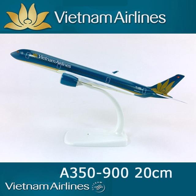 16cm 20cm Solid A350 Air Vietnam Airplane Model Aircraft Model A350-900 Vietnam Airlines Boeing 787 B787 Boeing  777 B777 Airway