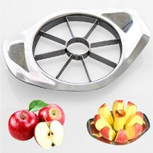 2018 1pcs Apple Cutter Stainless Steel Fruit Slicer Apple Corer Pear Cutters Knife Peeler Cut Tool New(China)
