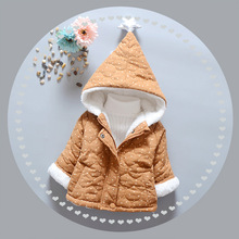 Baby winter coat unisex cotton clothes for baby girls boys wear cotton-padded jacket baby infant thick outerwear