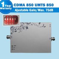 850 lintratek CDMA 스마트 폰 신호 중계기 MGC 기능 핸드폰 부스터 GSM 증폭기 Repetidor De Sinal Celular 850mhz 10