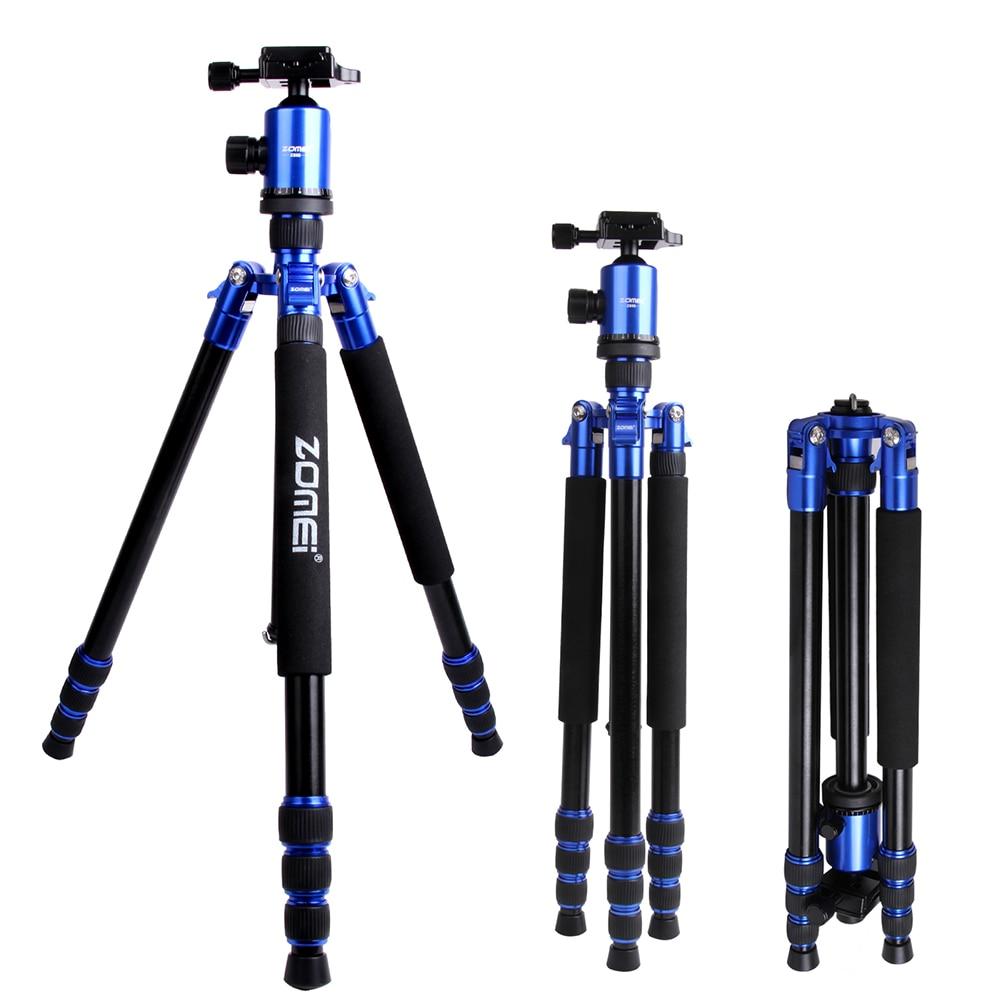 Zomei Z818 プロアルミ合金三脚キット一脚一眼レフカメラ用 Z818 5 色利用可能な光コンパクトポータブル  グループ上の 家電製品 からの 三脚 の中 2