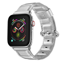 New Genuine Leather 3D Grid Style Band for Apple Watch 44mm 40mm 38mm 42mm Watchband for Apple Watch Sreies 4 3 2 1 Bracelet