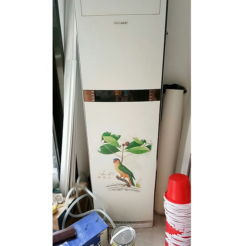 M Air Conditioning Stickers Creative Renovation Wall Door Glass PVC Stickers Wardrobes Elevator Waterproof Stickers 50 175 in Air Conditioner Parts from Home Appliances