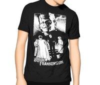 2018 Crossfit T ShirtsUNIVERSAL Con Quái Vật! Cô Dâu của Frankenstein Phim Kinh Dị t Shirt S-6XL Cao Bán Hot Casual Quần Áo