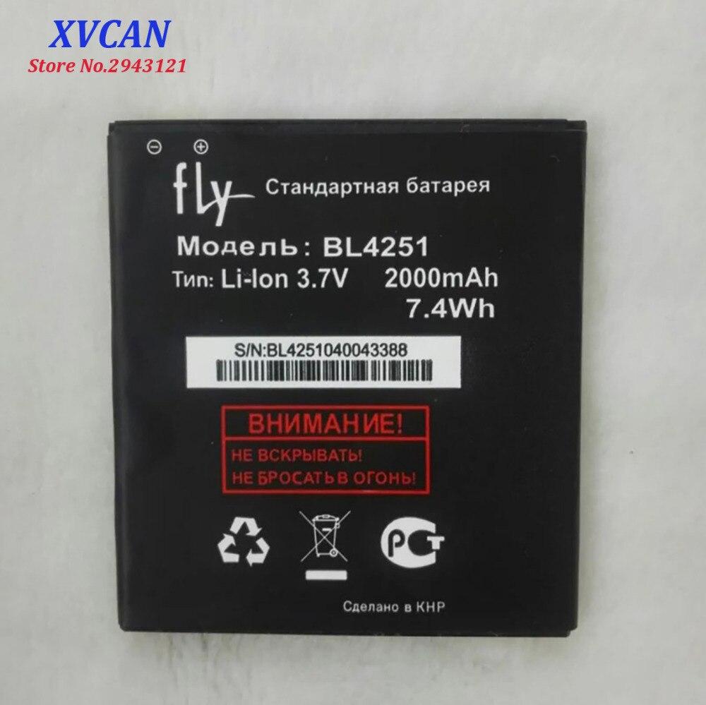 2018 Haute Qualité BL4251 Batterie Pour Fly IQ450 IQ 450 Li-ion 2000 mAh Mobile Téléphone Bateria Batterie Baterij En Stock